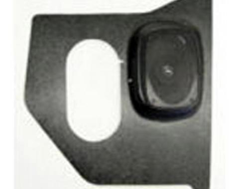 Custom Autosound Nova Kick Panels with 80 Watt Speakers, Convertible, 1962-1963