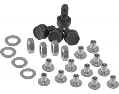 Nova And Chevy II Grille Fastener Kit, 1967