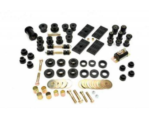 Nova Suspension Kit, Polyurethane, Complete For Multi Leaf Rear Suspension, 1968-1974