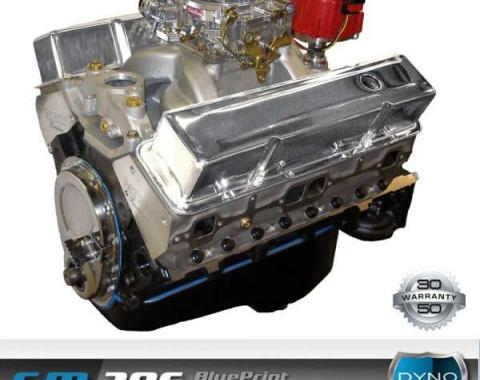 Nova 396 C.I. Blueprint Crate Engine 485HP, Roller Cam, Aluminum Heads, 1962-1979