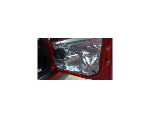 Hushmat Ultra Insulation, Doors, Firewall Or Trunk For Corvette, 1984-2017