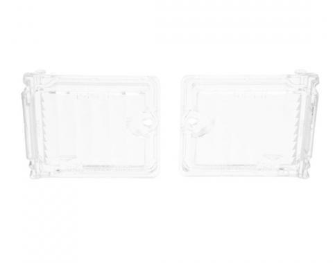 Trim Parts 68-69 Chevy II and Nova Back Up Light Lens, Pair A3054