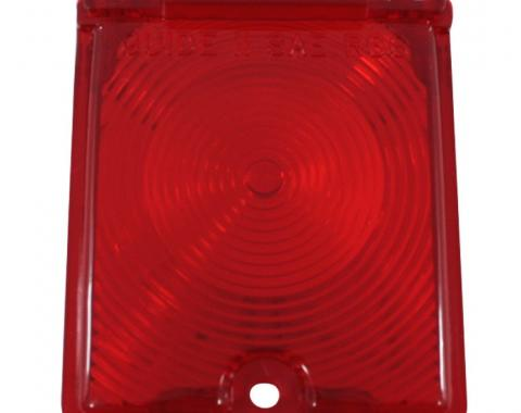 Trim Parts 66-67 Chevy II and Nova Back Up Light Lens, Red, Pair A3048-RED
