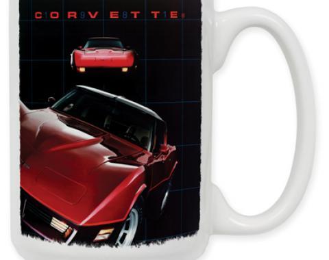 81 Corvette Coffee Mug