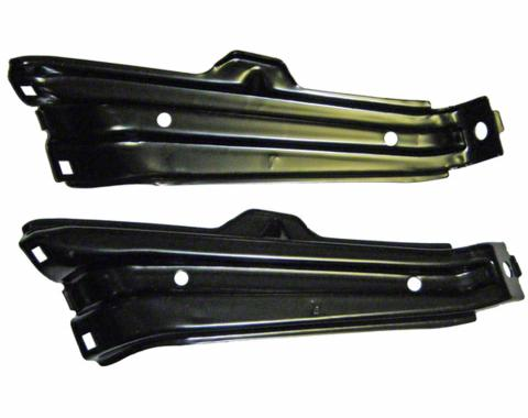 Nova And Chevy II Front Bumper Brackets, Outer, 1962-1965