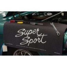 Fender Gripper® Cover, Black With Super Sport Logo