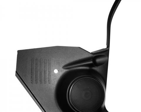 Custom Autosound Nova Kick Panels with 80 Watt Speakers, without A/C, 1968-1972