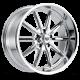 REV Wheels CLASSIC 18X9 Chrome Wheel 110C-8906100