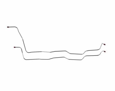 Right Stuff 75 V-8; T-350 - Trans. Cooler Lines XTC7501