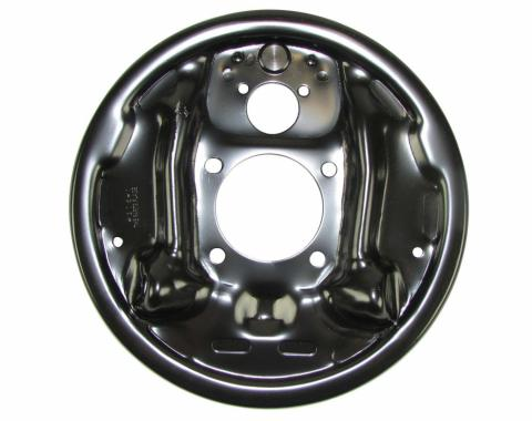 Right Stuff 10/12 Bolt 9.5 Drum Backing Plate; Left (64-72 A-Body; 67-69 F-Body; 64-72 X-Body) DBBP81L