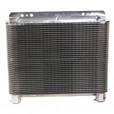 B&M Polished SuperCooler Automatic Transmission Oil Cooler 70272