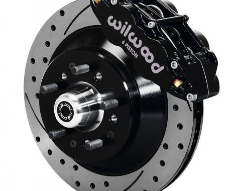 Wilwood Brakes Forged Narrow Superlite 6R Big Brake Front Brake Kit (Hub and 1PC Rotor) 140-12280-D