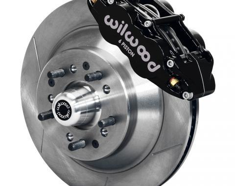 Wilwood Brakes Forged Narrow Superlite 6R Big Brake Front Brake Kit (Hub and 1PC Rotor) 140-12280