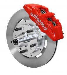 Wilwood Brakes Forged Dynapro 6 Big Brake Front Brake Kit (Hub) 140-10738-R