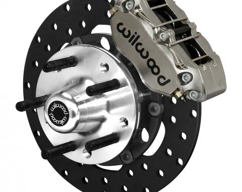 Wilwood Brakes Dynapro Lug Mount Front Dynamic Drag Brake Kit 140-14418-DN