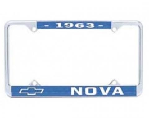 Nova License Frame, 1963