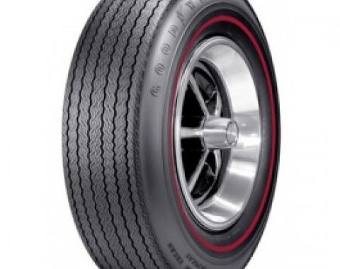 Nova Tire, E70/14 Polyglas, .350 Red Stripe, 1968-1970