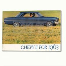 Nova And Chevy II Sales Brochure, 1963