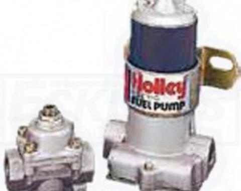 Nova And Chevy II Holley Electric Fuel Pump, Blue, 1962-1979