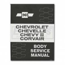 Nova And Chevy II Body By Fisher Service Manual, 1965
