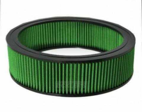 Nova Green Air Filter, Small Block, 1969-1979