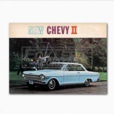 Nova And Chevy II Sales Brochure, 1962