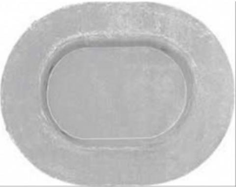 Nova Floor Pan Plug, Metal, Oval, 1962-1976