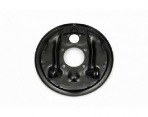 Nova Brake Drum Backing Plate, Right Rear, 1967-1969
