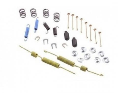 Nova Drum Brake Hardware Kit, Front, 1965-1979