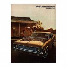 Nova Sales Brochure, 1970