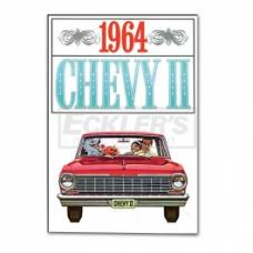 Nova And Chevy II Sales Brochure, 1964
