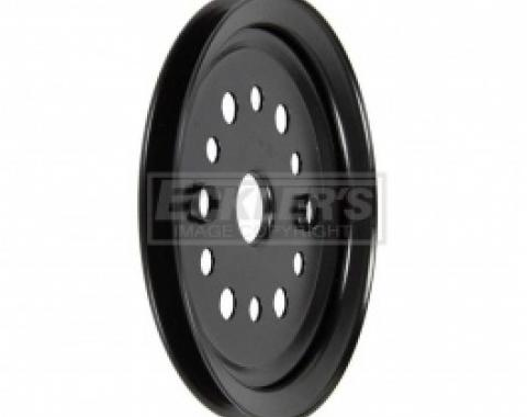 Nova And Chevy II Crankshaft Pulley, 327ci Or 350ci, Single Groove, For Cars Without Air Conditioning