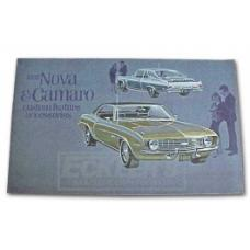 Nova Color Custom Accessory Brochure, 1969