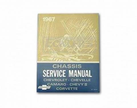 Nova And Chevy II Chassis Service Shop Manual, 1967