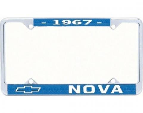 Nova License Frame, 1967