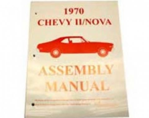 Nova Factory Assembly Manual, 1970