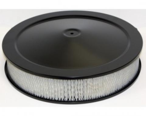 Air Cleaner, Round Black, 14 X 3