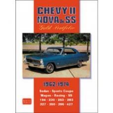 Chevy II-Nova & SS Gold Portfolio Book