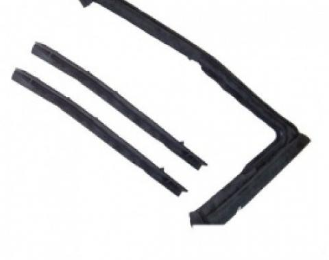 Nova Vent Window Weatherstrip, 2 & 4-Door Sedan, 1968-1972