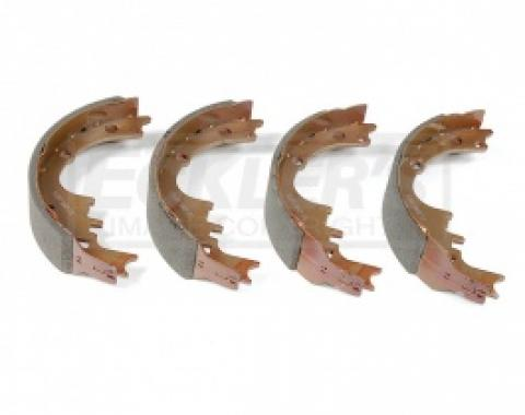 Nova Drum Brake Shoe Set, Front, 1965-1974