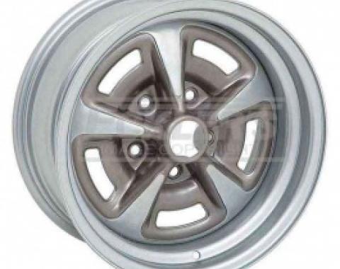 Nova And Chevy II Yenko Style Rally II Wheel, 15 x 8, 4.5 Backspace, 1962-1979