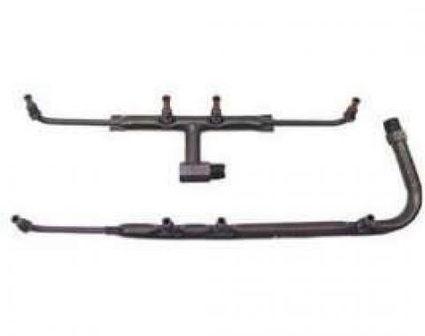Nova Exhaust Manifold Air Injection Tubes, Air Injection Reactor (AIR) System, 327 & 350ci, 1969-1973