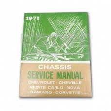 Nova Chassis Service Shop Manual, 1971