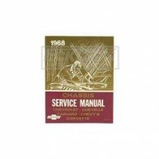 Nova And Chevy II Chassis Service Shop Manual, 1968