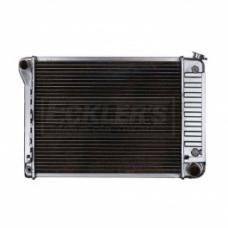Nova And Chevy II US Radiator, Copper And Brass, Standard Duty, For Cars With Big Block 396CI, Manual Transmission, Three Row, 1968-1971
