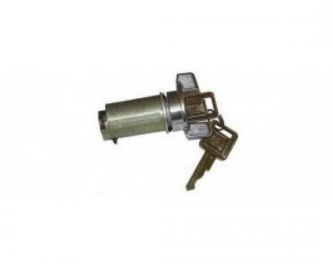 Nova Lock Cylinder, Ignition, With Original Style Keys, 1969-1978
