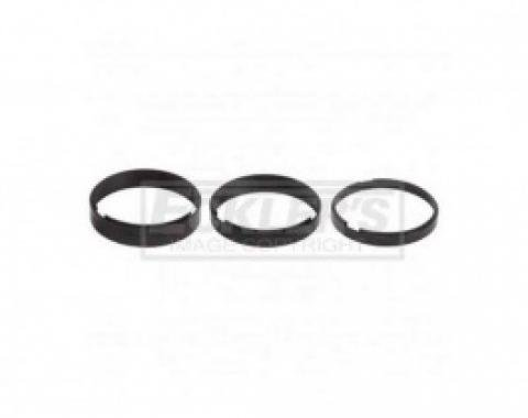 Nova And Chevy II Spectre Performance Air Cleaner Riser Kit, For Air Cleaner And Carburetors With 5 1/8 Neck, 1962-1979
