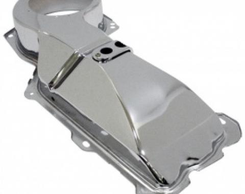 Nova Firewall Heater Box Cover, For Cars Without Factory Air Conditioning, With Big Block Engine, Chrome, 1968-1979
