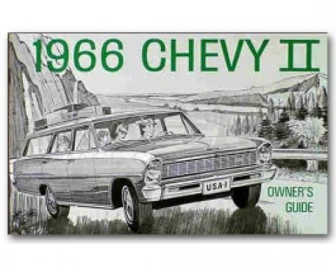 Nova Chevy II Owner's Manual, 1966