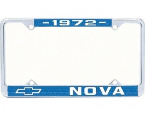 Nova License Frame, 1972